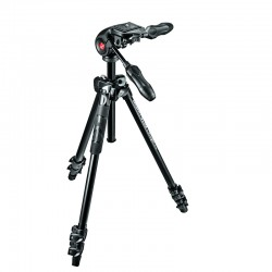 MANFROTTO MK290LTA3-3W - Trépied Kit 290 light + rotule MH293D3-Q2