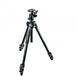 MANFROTTO MK290LTA3-BH - Trépied Kit 290 light + rotule 494RC2