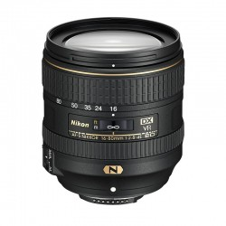 NIKON Objectif AF-S DX NIKKOR 16-80 mm f/2.8-4E ED VR Garanti 2 ans