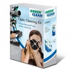 GREEN CLEAN LC-7000 Kit de Nettoyage (aerosol 150ml + 10 lingettes Wet&Dry)