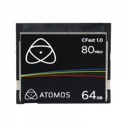 ATOMOS Carte CFAST 1.0 - 64 Go 80MB/s - ATOMCFT064