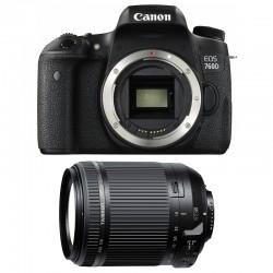 CANON EOS 760D + TAMRON 18-200 VC GARANTI 3 ans