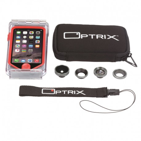 OPTRIX KIT PRO iPhone 5/5S - 4 Objectifs - 9467802