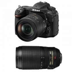NIKON D500 + 16-80 VR + 70-300 VR GARANTI 3 ans
