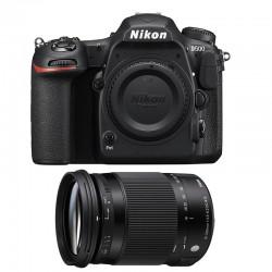 NIKON D500 + SIGMA 18-300 Macro OS HSM Contemporary GARANTI 3 ans