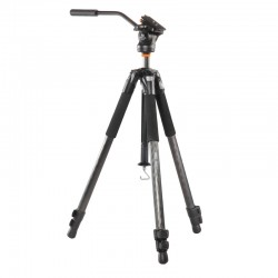 VANGUARD KIT ABEO283CV trépied pro carbone + rotule vidéo PH-114V