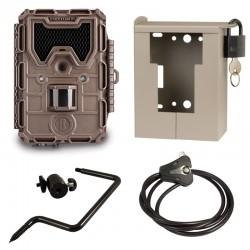 BUSHNELL TROPHY CAM Aggresor HD Marron black LED (119776) + caisson (119754C) + Support (119652C) + Câble (119518C)