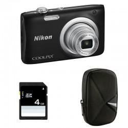 NIKON Coolpix A100 NOIR GARANTI 2 ans + ETUI + SD 4 Go