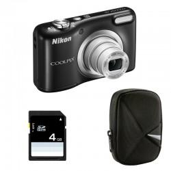 NIKON Compact Coolpix A10 NOIR Garanti 2 ans + ETUI + SD 4 Go
