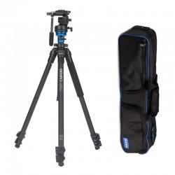 BENRO Trépied vidéo carbone Kit S Series Single leg C1573FS2