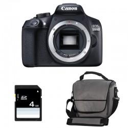 CANON EOS 1300D nu GARANTI 3 ans + Sac + Carte SD 4Go