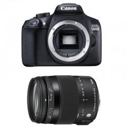 CANON EOS 1300D + SIGMA 18-200 OS Contemporary GARANTI 3 ans