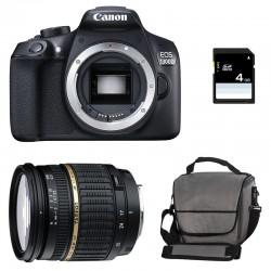 CANON EOS 1300D + TAMRON 17-50 DI GARANTI 3 ans + Sac + Carte SD 4Go