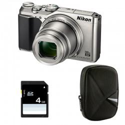 NIKON Compact Coolpix A900 SILVER + Etui + Carte SD 4 Go GARANTI 2 ans