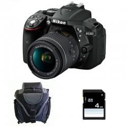NIKON D5300 + 18-55 VR GARANTI 3 ans + Sac + SD 4Go