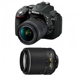 NIKON D5300 + 18-55 VR + 55-200 VR II GARANTI 3 ans