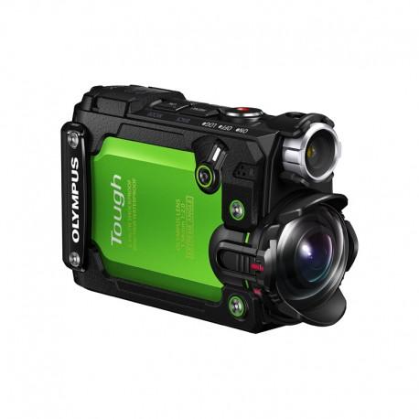 OLYMPUS Caméra d'action Tough TG-Tracker vert