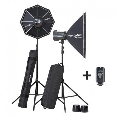 ELINCHROM KIT éclairage studio BRX 500/500 SOFTBOX TO GO