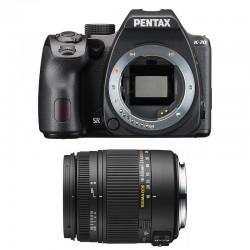 PENTAX K70 Noir + SIGMA 18-250 DC MACRO GARANTI 3 ans