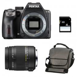 PENTAX K70 Noir + SIGMA 18-250 DC MACRO GARANTI 3 ans + Sac + SD 4Go