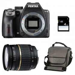 PENTAX K70 Noir + TAMRON 17-50 XR DI GARANTI 3 ans + Sac + Carte SD 4Go