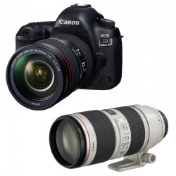 CANON EOS 5D MARK IV + 24-105 L IS II USM + 70-200 IS USM II GARANTI 3 ans