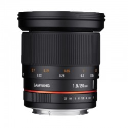 SAMYANG 20 mm f/1.8 ED AS UMC PENTAX GARANTI 2 ans