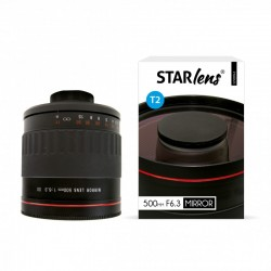 "STARBLITZ StarLens Objectif catadioptrique 500mm F6.3 avec bague SONY ""A"""
