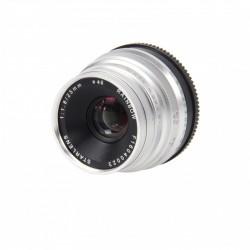 STARBLITZ StarLens 25mm F1.8 Fuji X argent