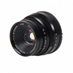 STARBLITZ StarLens 35mm F1.8 Fuji X noir