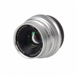 STARBLITZ StarLens 35mm F1.8 E-Mount argent