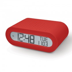 OREGON RRM116 Rouge - Radio Réveil Basic Rouge