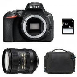 NIKON D5600 + 16-85 VR GARANTI 3 ans + Sac + SD 4Go