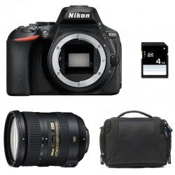 NIKON D5600 + 18-200 VR GARANTI 3 ans + Sac + SD 4Go