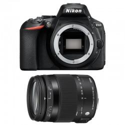 NIKON D5600 + SIGMA 18-200 Contemporary Garanti 3 ans