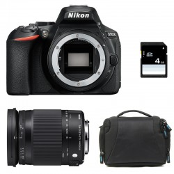 NIKON D5600 + SIGMA 18-300 Contemporary Garanti 3 ans + Sac + SD 4Go