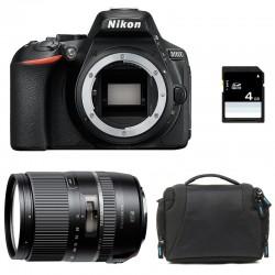 NIKON D5600 + TAMRON 16-300mm VC PZD + Sac + SD 4Go