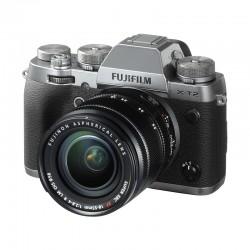 FUJIFILM X-T2 Graphite Silver + 18-55 mm GARANTI 3 ans
