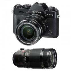 FUJIFILM X-T20 Noir + 18-55 + 50-140 GARANTI 3 ans