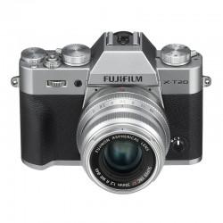 FUJIFILM X-T20 SILVER + XF 35mm f/2 WR Garanti 2 ans
