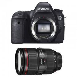 CANON EOS 6D + EF 24-105 f/4 L IS II GARANTI 3 ans