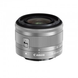CANON Objectif EF-M 15-45mm f/3.5-6.3 IS STM Silver