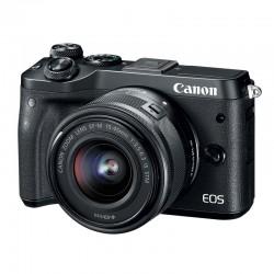 CANON EOS M6 NOIR + 15-45 GARANTI 3 ans