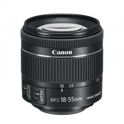 CANON OBJECTIF EF-S 18-55 IS STM f/4-5.6