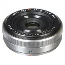 FUJIFILM Objectif Fujinon XF 27mm F2.8 Pancake Silver
