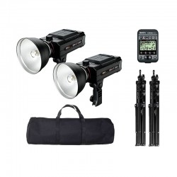 SMDV KIT 2 FLASHES NOMADES BRIHT-360 TTL CANON