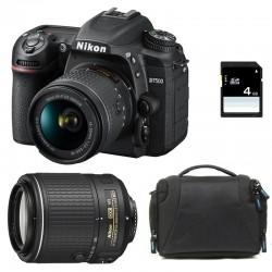 NIKON D7500 + 18-55 VR + 55-200 VR II GARANTI 3 ans + Sac + SD 4Go