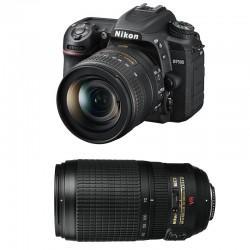 NIKON D7500 + 18-55 VR + 70-300 VR GARANTI 3 ans