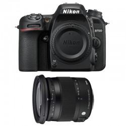 NIKON D7500 + SIGMA 17-70 Contemporary GARANTI 3 ans