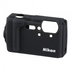 NIKON protection silicone noir pour Coolpix W300